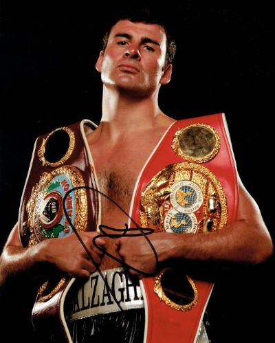 Joe Calzaghe Autograph Photo